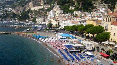 Amalfi Coast Beach Italy Beaches In Amalfi Youtube
