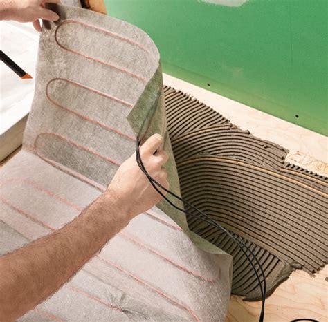 comment monter une chambre de culture tapis sur plancher chauffant 28 images planchers