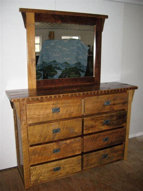 furniture from the barn rustic barn wood furniture 8 drawer dresser w mirror