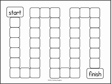 blank board game template printable sampletemplatess