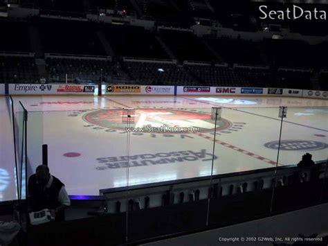 nassau coliseum section  hockey seating rateyourseatscom