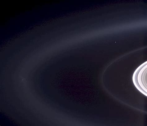Earth Seen From Saturn Blog