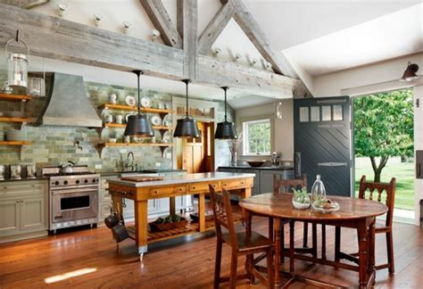 Farmhouse Style Custom Kitchen   Eclectic   Kitchen