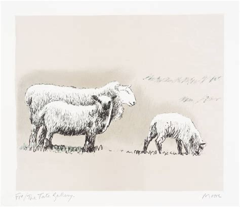 henry moore sheep images  pinterest henry