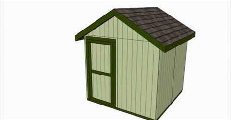8x8 Storage Shed Plans Free by 8x8 Shed Plans Free Outdoor Plans Diy Shed Wooden