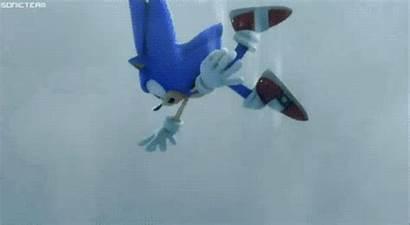 Sonic Hedgehog Falling Sky Gifs Origami Darkspyro
