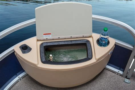 Pontoon Boat Live Well Kit by Sun Tracker Fishin Barge 22 Pontoon On The Prowl Boats