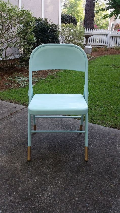 1000 ideas about painted metal chairs on