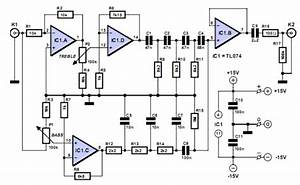 Nte Electronics Circuit  Paraphase Tone Controller