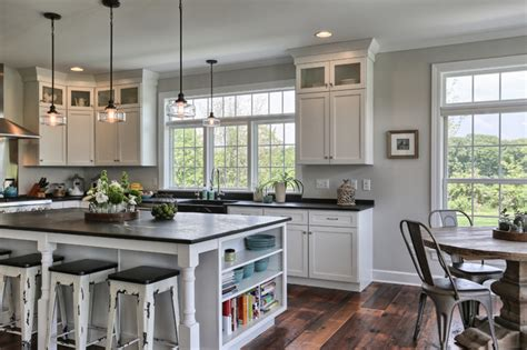 floating kitchen islands country farmhouse farmhouse kitchen other by