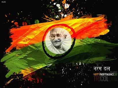 India Happy Independence Republic Animated Flag Indian