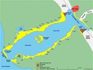 1958 Alaska  The Lituya Bay 1720 Ft  Tsunami