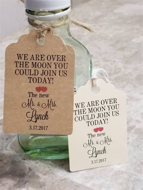 Personalized Favor Tags 25l X18w Wedding Tags Thank
