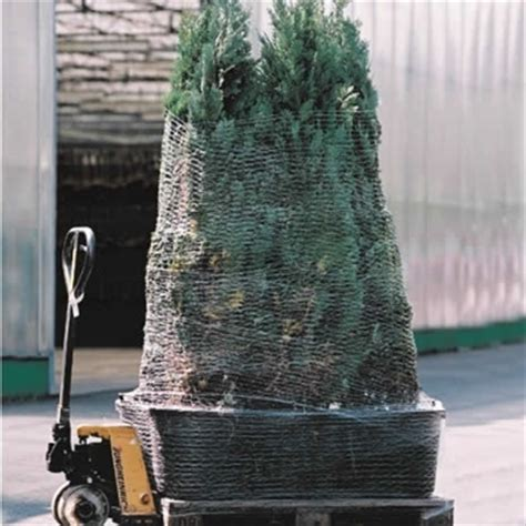 christmas tree netting hand pallet netting mesh