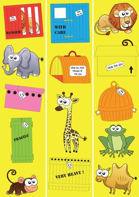 teachers pet displays dear zoo border