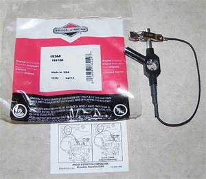 Small Engine Ignition Coil Tester