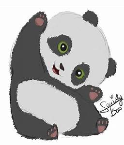 Baby Panda Doodle by SquishyBooo on DeviantArt
