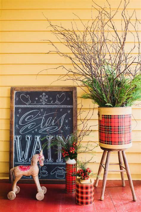 dec for christmashgtv 20 festive front porch decorating ideas for the holidays hgtv s decorating design hgtv
