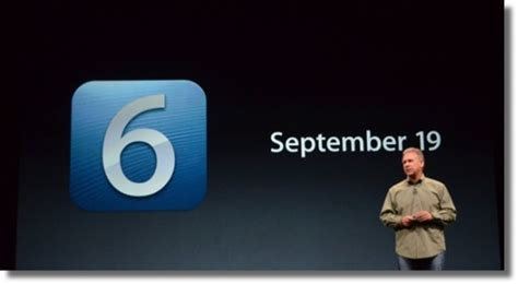 apple iphone 6 release date apple confirms official ios 6 release date softpedia