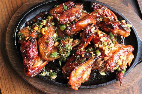 thai chicken spicy thai chicken wings recipe dishmaps