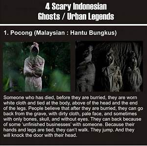 Indonesian Ghosts Are Creepy 4 Pics