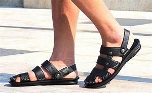 DealDey - Men's Genuine Leather Sandals