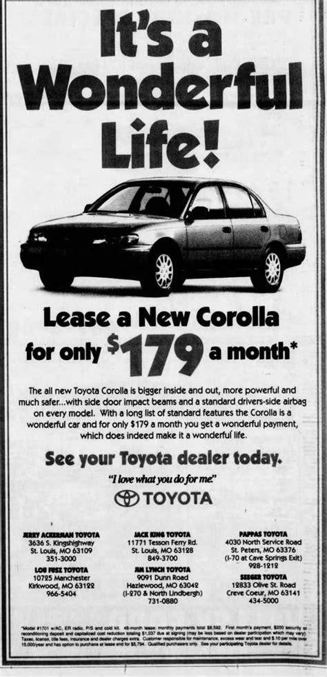 toyota dealers ad     car lots toyota dealers  corolla