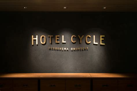 New Logo And Brand Identity For Hotel Cycle By Uma