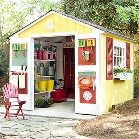 idees amenagement cabane de jardin