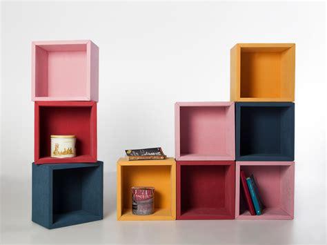 libreria cubi fabric set di 9 mensole cubi per arredo da parete 30 x 30 cm