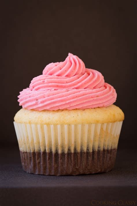 cuisine cupcake neapolitan cupcakes recipe dishmaps