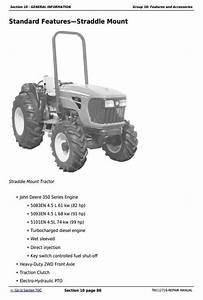 John Deere 5083en  5093en  5101en Tractors Repair
