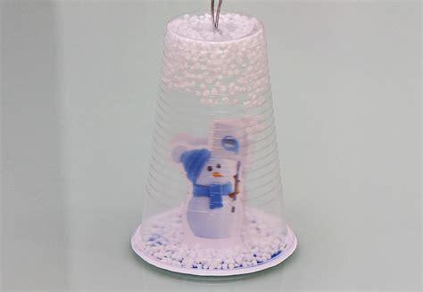 DIY: Adorno navideño con vaso reciclado   Blog Easywater