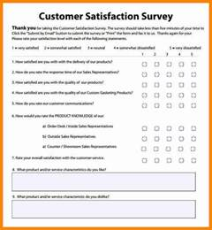 Survey Template Excel 6 Customer Satisfaction Survey Template Excel Mail Clerked