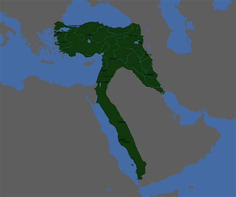How Did The Ottoman Empire Start by Oc The Ottoman Empire At The Start Of Ww1 1200x1000