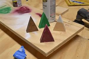 How to Make Easy Christmas Tree Place Card Holders - Home ...