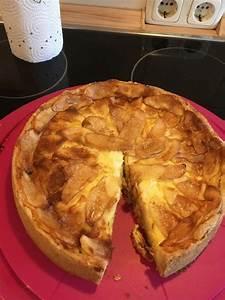 Kuchen Mit Quark Und Apfel Apfel Quark Kuchen Rezept Mit Bild