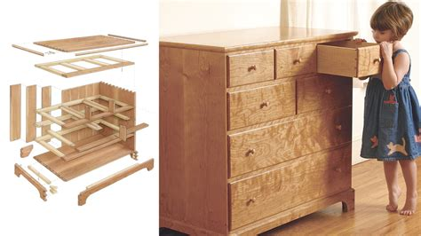 cherry chest  drawers finewoodworking