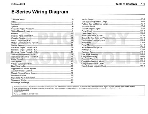 2014 Ford E 250 Wiring Diagram by 2014 Ford Econoline Wiring Diagram Manual Original