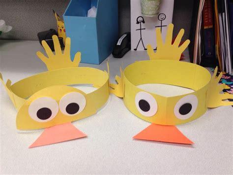 duck hat craft preschool story time crafts duck crafts 760 | 8c50d81f44117b06987052dc56aa6c8e hat crafts story time