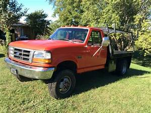 1993 Ford F350 Xl 7 3 Diesel Automatic 4wd Dually Flatbed