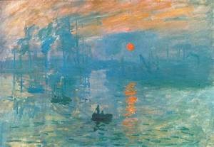 Impression Sunrise — Oscar-Claude Monet | Sam Hillier's ...
