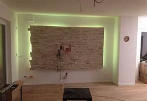 Steinwand Wohnzimmer Tv : wohnzimmer steinwand tv led wohnzimmer pinterest steinwand led und wohnzimmer ~ Bigdaddyawards.com Haus und Dekorationen