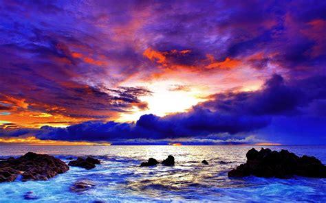 sunset images purple beach hd desktop wallpapers  hd