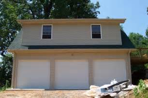 3 Car Garage with Living Space