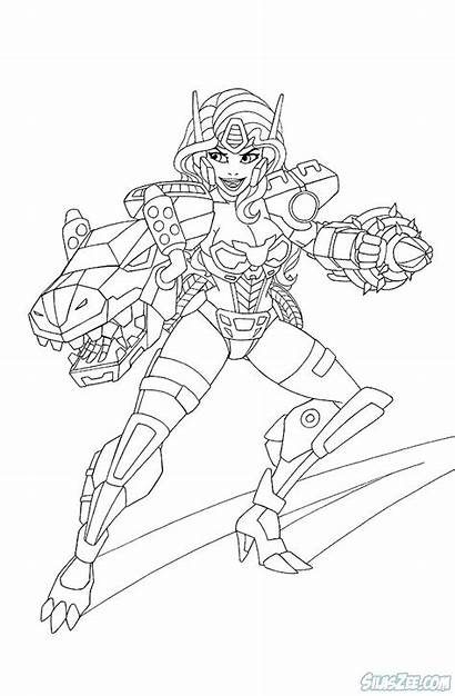 Rescue Bots Coloring Pages Printable Transformers Colouring