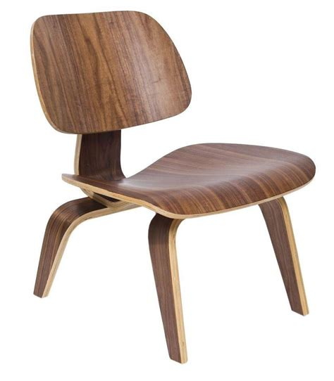 vintage walnut chair by norman cherner for eames walnut lounge chair lcw wonderwood