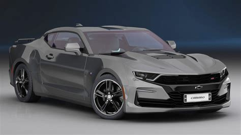 2019 Chevrolet Models by Chevrolet Camaro Ss 2019 Model Turbosquid 1379735