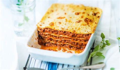 plat cuisiné picard lasagnes à la bolognaise surgelés les plats cuisinés