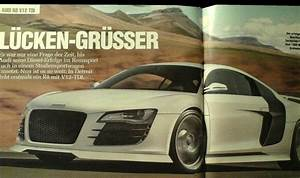 Audi R8 V12 TDI-engined To Be Unveiled In Detroit News ...
